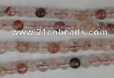 CPQ35 15.5 inches 5mm round natural pink quartz beads wholesale