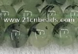 CPR391 15.5 inches 8mm round prehnite beads wholesale