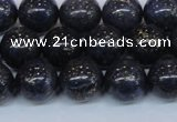 CPY774 15.5 inches 12mm round pyrite gemstone beads wholesale