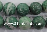 CQJ07 15.5 inches 16mm round Qinghai jade beads wholesale