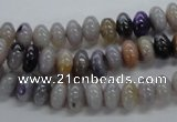 CRB08 15.5 inches 5*8mm rondelle New Brazilian agate beads