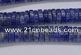 CRB1022 15.5 inches 2*6mm heishi sodalite beads wholesale
