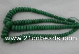 CRB1107 15.5 inches 5*8mm - 9*18mm rondelle green aventurine beads