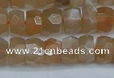 CRB1469 15.5 inches 5*8mm faceted rondelle moonstone beads