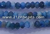 CRB1898 15.5 inches 2.5*4mm faceted rondelle apatite beads