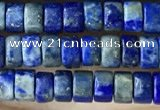 CRB2578 15.5 inches 2*4mm heishi lapis lazuli beads wholesale