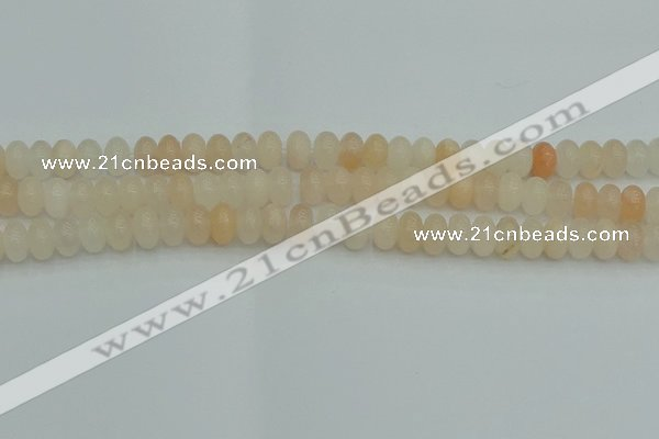CRB2816 15.5 inches 5*8mm rondelle pink aventurine beads