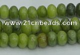 CRB2835 15.5 inches 4*6mm rondelle Chinese chrysoprase beads
