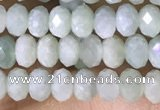 CRB3166 15.5 inches 2.5*4mm faceted rondelle tiny jade beads
