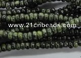 CRB39 15.5 inches 2*4mm rondelle canadian jade gemstone beads
