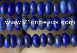 CRB4006 15.5 inches 2.5*4.5mm rondelle lapis lazuli beads wholesale