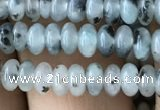 CRB4012 15.5 inches 2.5*4.5mm rondelle sesame jasper beads wholesale