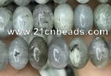 CRB4080 15.5 inches 5*8mm rondelle labradorite beads wholesale