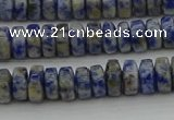 CRB428 15.5 inches 5*8mm rondelle African sodalite beads wholesale