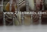 CRB496 15.5 inches 7*14mm tyre botswana agate beads wholesale