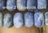 CRB5056 15.5 inches 5*8mm rondelle matte sodalite beads wholesale