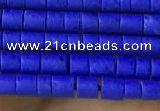 CRB5502 15 inches 2*2mm heishi synthetic turquoise beads wholesale