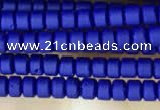 CRB5503 15 inches 2*2mm heishi synthetic turquoise beads wholesale
