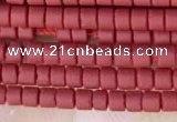 CRB5506 15 inches 2*2mm heishi synthetic turquoise beads wholesale
