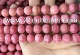 CRC1051 15.5 inches 12mm round rhodochrosite beads wholesale