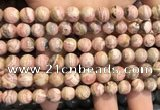 CRC1150 15.5 inches 8mm round rhodochrosite gemstone beads