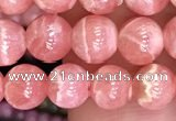 CRC1163 15.5 inches 6mm round rhodochrosite gemstone beads