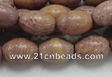 CRC67 15.5 inches 13*18mm rice rhodochrosite gemstone beads