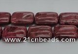 CRC822 15.5 inches 12*16mm rectangle Brazilian rhodochrosite beads