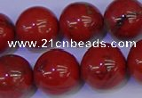 CRE306 15.5 inches 16mm round red jasper beads wholesale