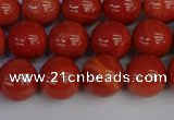 CRE313 15.5 inches 10mm round red jasper beads wholesale