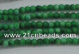 CRF429 15.5 inches 2mm round dyed rain flower stone beads wholesale