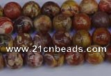 CRH501 15.5 inches 6mm round rhyolite gemstone beads wholesale