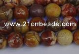 CRH502 15.5 inches 8mm round rhyolite gemstone beads wholesale