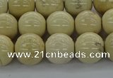 CRI205 15.5 inches 14mm round riverstone beads wholesale