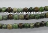 CRJ15 15.5 inches 6mm round african prase jasper beads wholesale