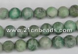 CRO109 15.5 inches 8mm round Qinghai jade beads wholesale