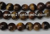 CRO115 15.5 inches 8mm round yellow tiger eye beads wholesale