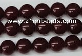 CRO208 15.5 inches 10mm round dyed candy jade beads wholesale