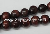 CRO215 15.5 inches 10mm round red tiger eye beads wholesale