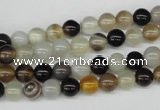 CRO23 15.5 inches 6mm round agate gemstone beads wholesale