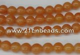 CRO29 15.5 inches 6mm round red aventurine beads wholesale