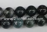 CRO315 15.5 inches 12mm round moss agate beads wholesale