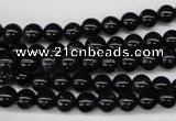 CRO42 15.5 inches 6mm round blue goldstone beads wholesale