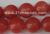 CRO455 15.5 inches 16mm round cherry quartz beads wholesale