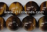 CRO492 15.5 inches 18mm round yellow tiger eye beads wholesale