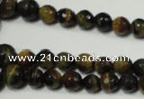 CRO709 15.5 inches 6mm – 16mm faceted round yellow tiger eye beads