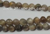 CRO730 15.5 inches 6mm – 14mm faceted round moonstone gemstone beads