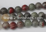 CRO92 15.5 inches 8mm round bloodstone beads wholesale