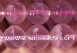 CRQ472 15.5 inches 10mm round rose quartz gemstone beads