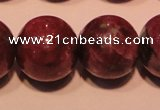 CRZ403 15.5 inches 10mm round natural ruby gemstone beads